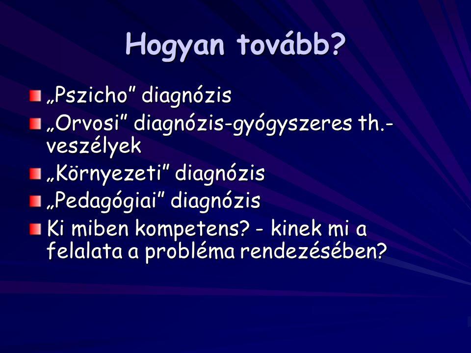 """Hogyan tovább """"Pszicho diagnózis"""