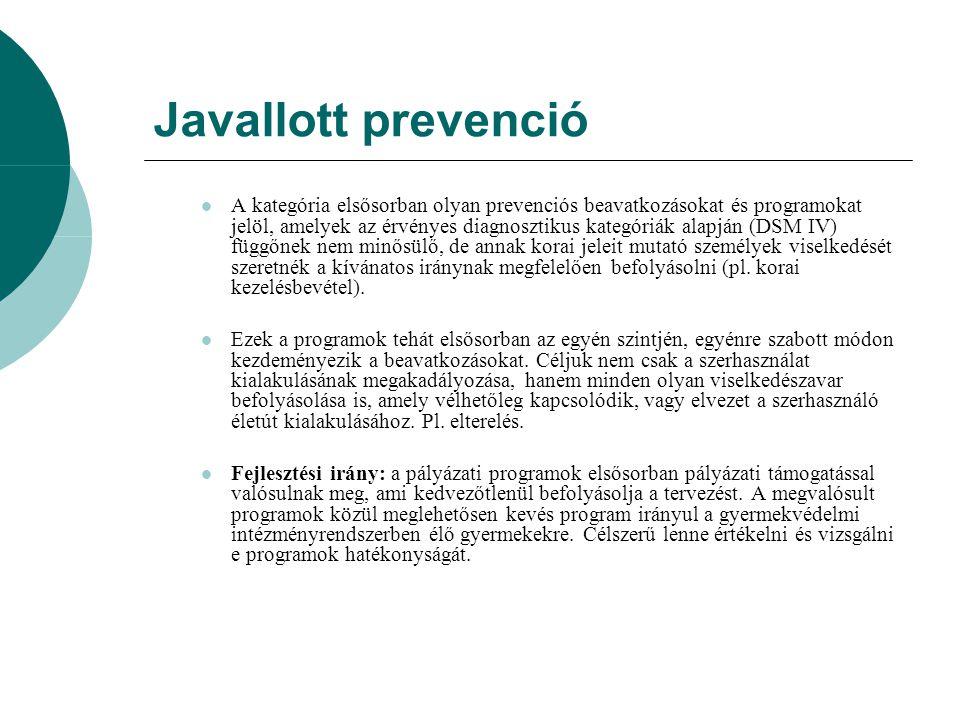Javallott prevenció