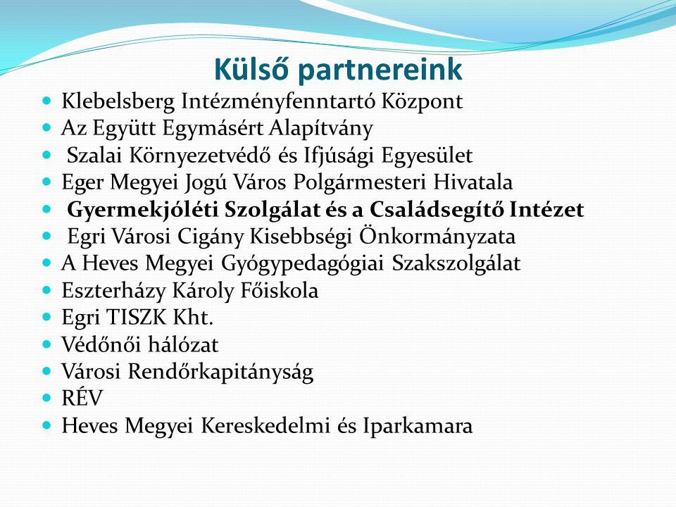 Külső partnereink Klebelsberg Intézményfenntartó Központ