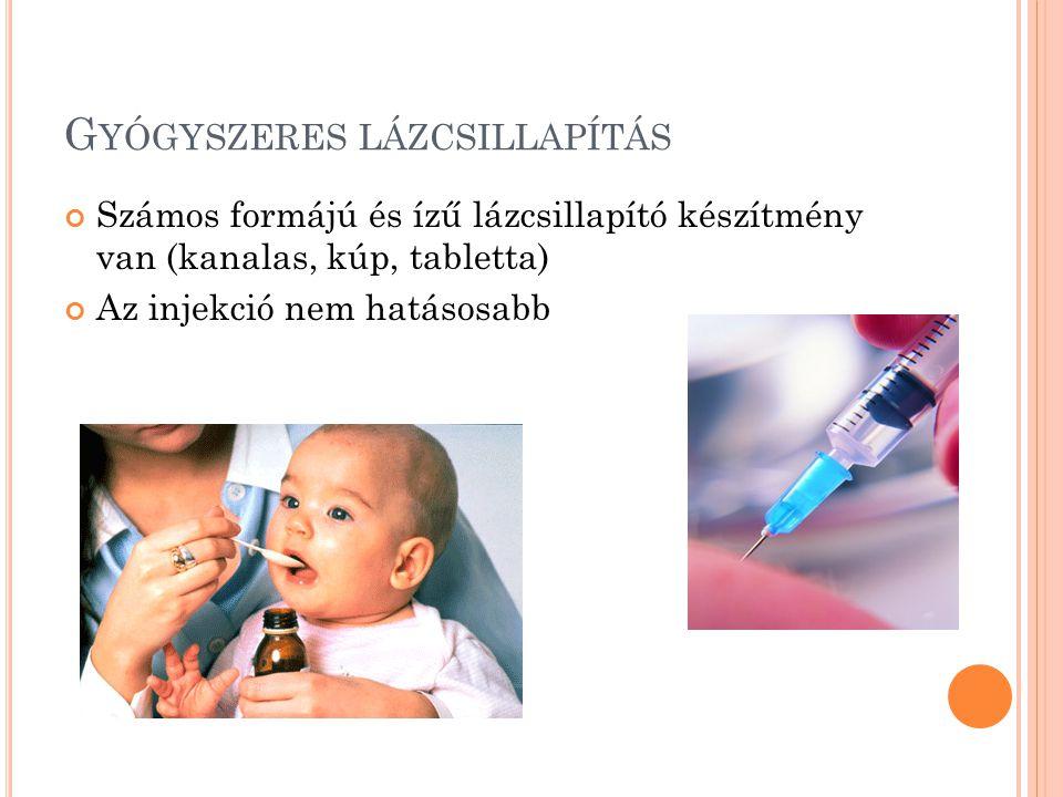 Gyógyszeres lázcsillapítás