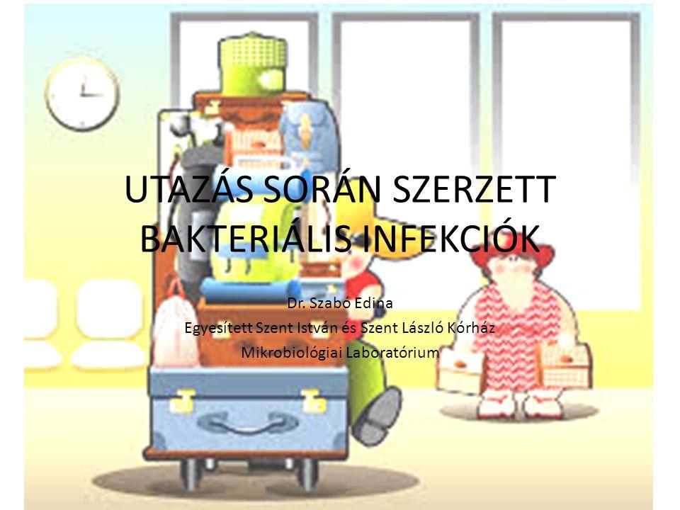 UTAZÁS SORÁN SZERZETT BAKTERIÁLIS INFEKCIÓK