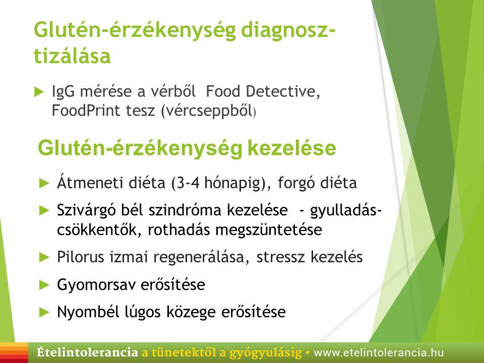 Glutén-érzékenység diagnosz- tizálása