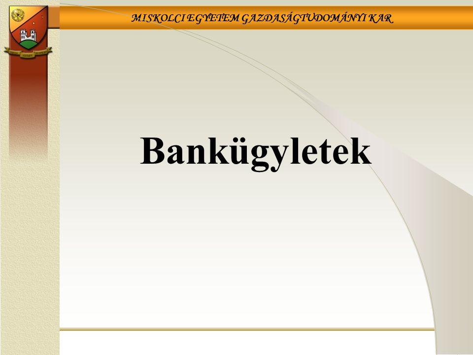 Bankügyletek