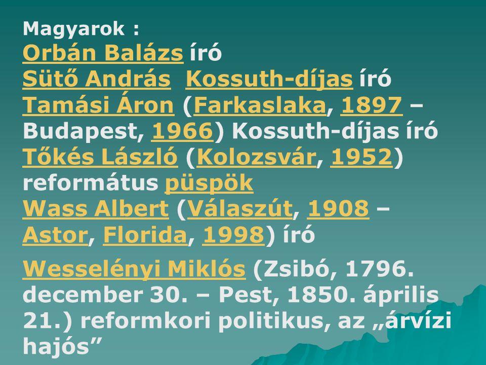 Sütő András Kossuth-díjas író