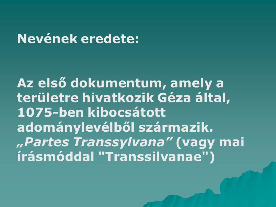 Nevének eredete: