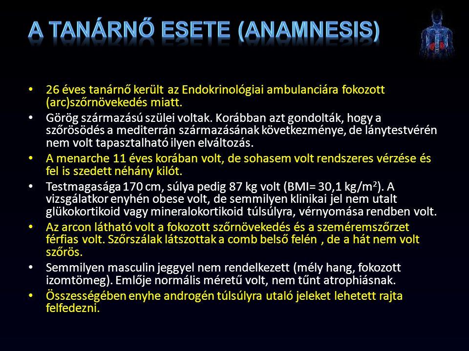 A tanárnő esete (anamnesis)