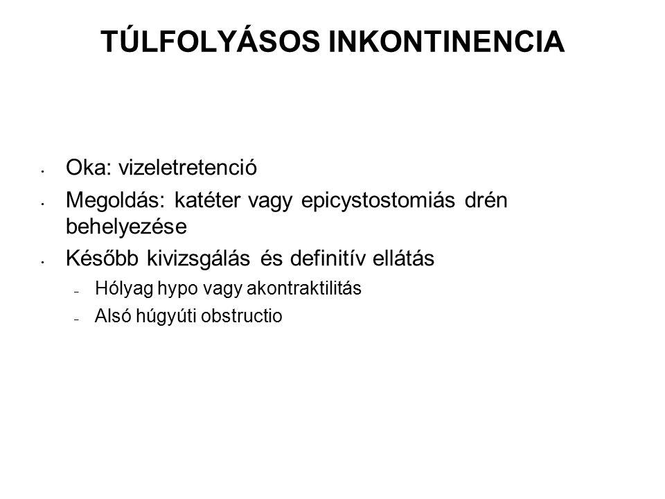 TÚLFOLYÁSOS INKONTINENCIA