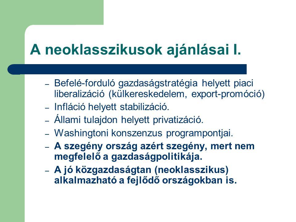 A neoklasszikusok ajánlásai I.
