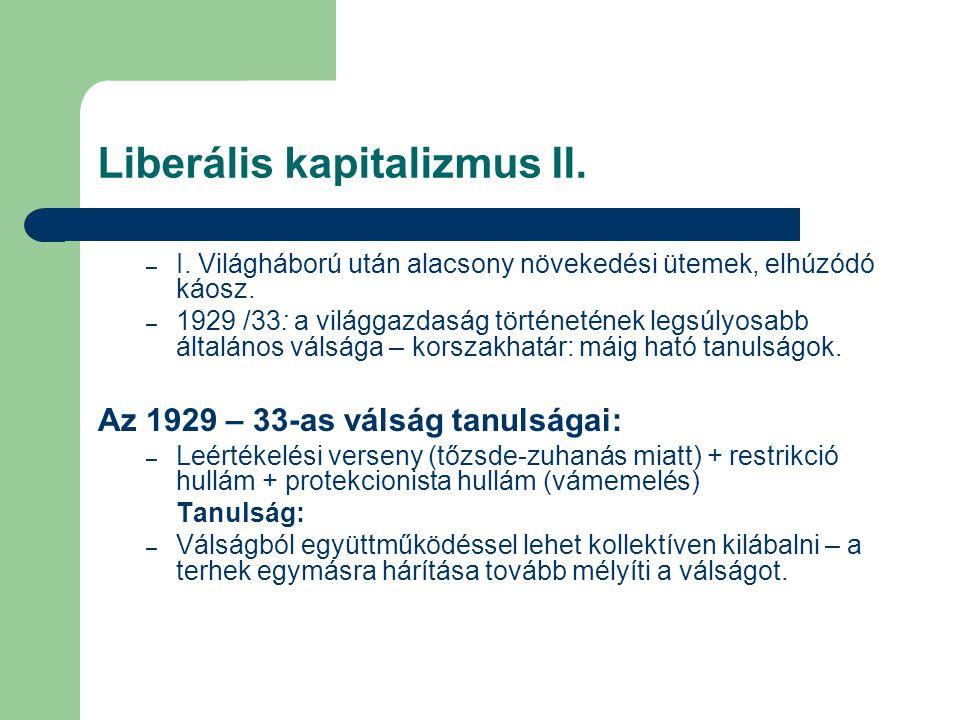 Liberális kapitalizmus II.