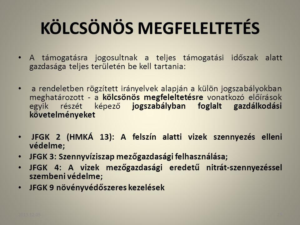 KÖLCSÖNÖS MEGFELELTETÉS