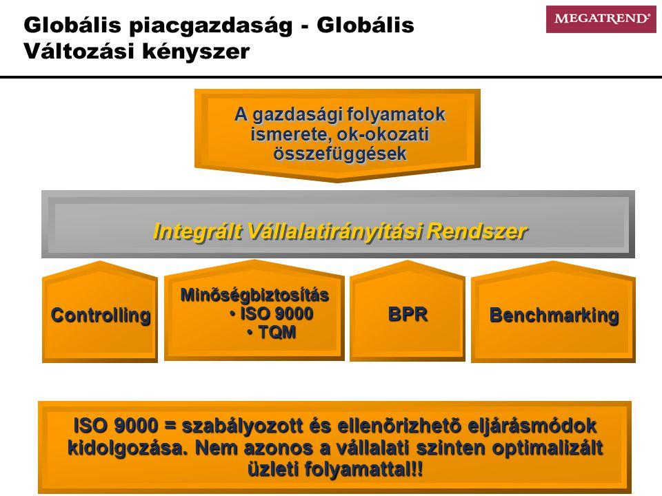 Globális piacgazdaság - Globális Változási kényszer