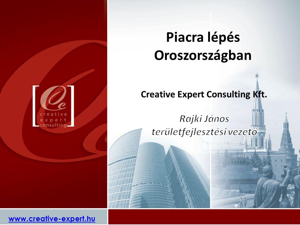 Piacra lépés Oroszországban