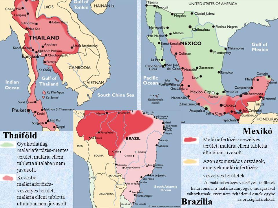 Mexikó Thaiföld Brazília