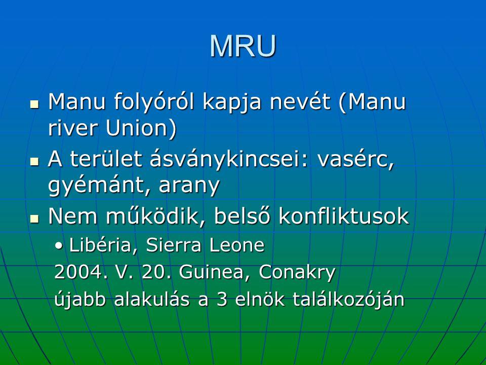 MRU Manu folyóról kapja nevét (Manu river Union)