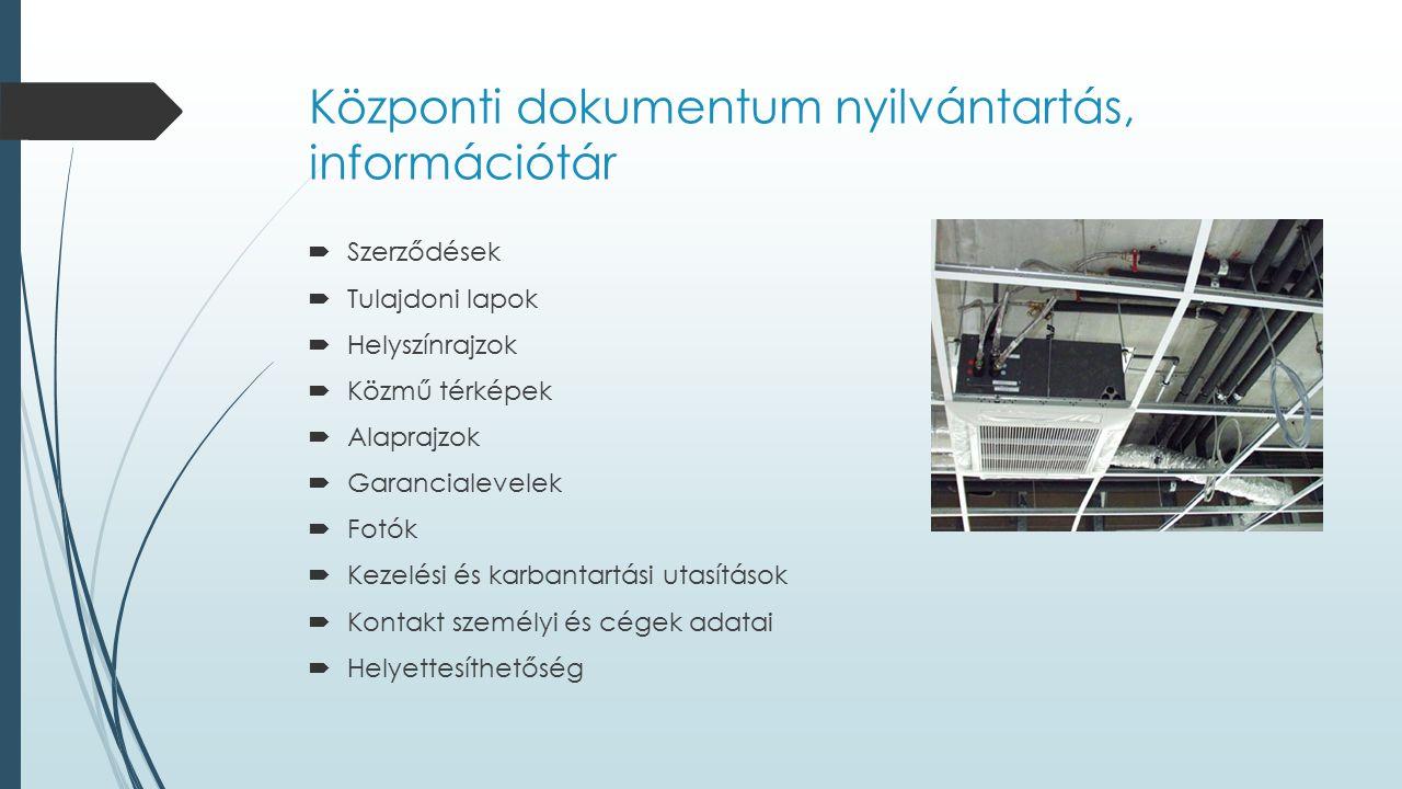 Központi dokumentum nyilvántartás, információtár