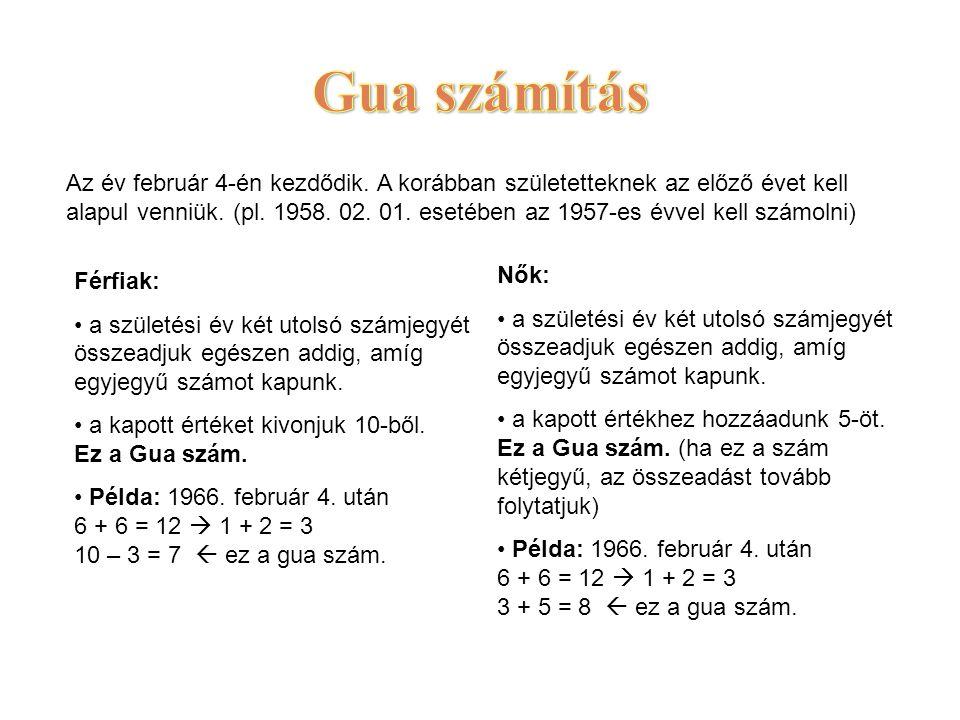 Gua számítás