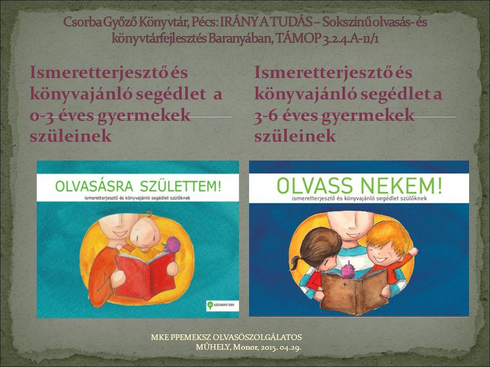 Csorba Győző Könyvtár, Pécs: IRÁNY A TUDÁS – Sokszínű olvasás- és könyvtárfejlesztés Baranyában, TÁMOP 3.2.4.A-11/1
