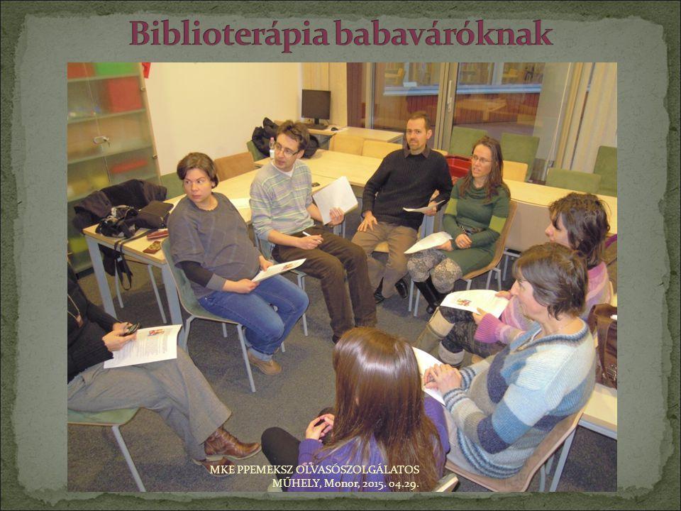 Biblioterápia babaváróknak