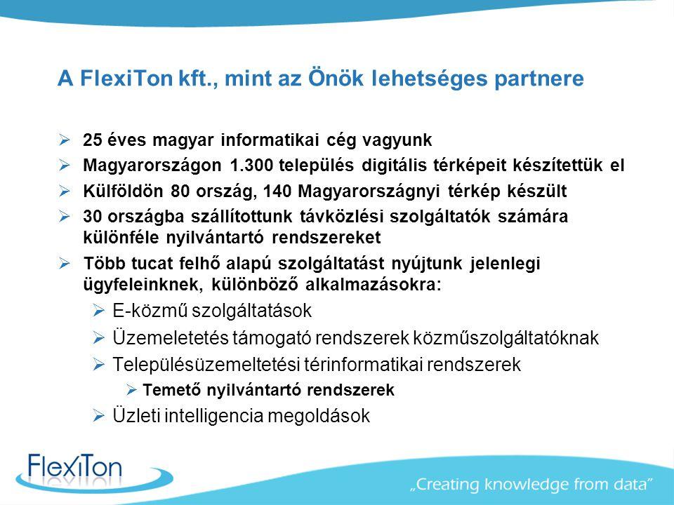 A FlexiTon kft., mint az Önök lehetséges partnere
