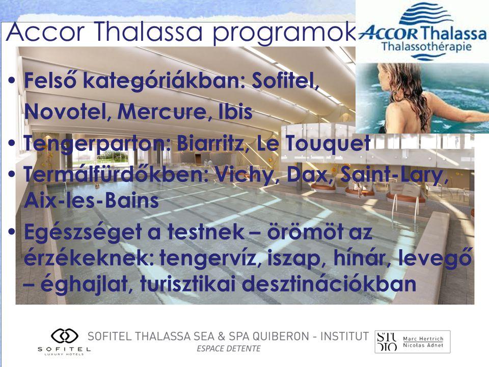 Accor Thalassa programok