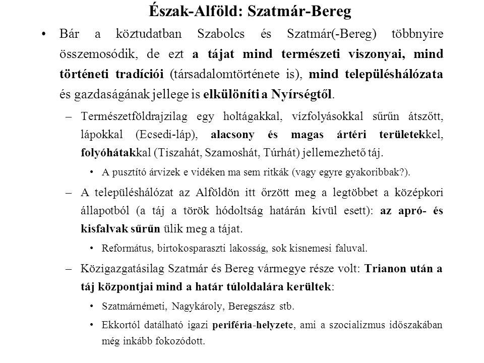 Észak-Alföld: Szatmár-Bereg