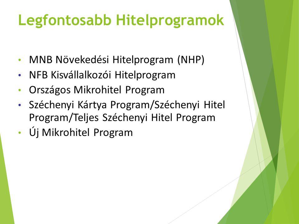 Legfontosabb Hitelprogramok
