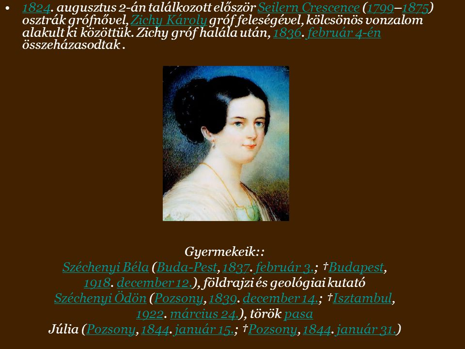 Júlia (Pozsony, 1844. január 15.; †Pozsony, 1844. január 31.)
