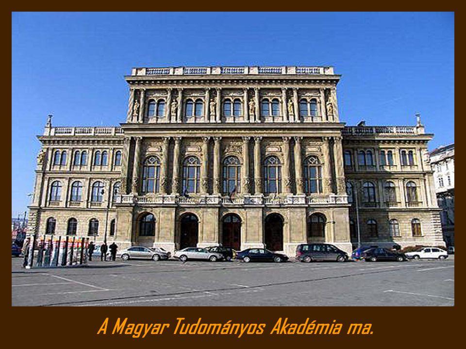 A Magyar Tudományos Akadémia ma.