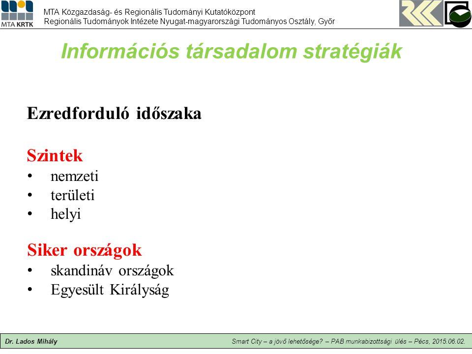 Információs társadalom stratégiák