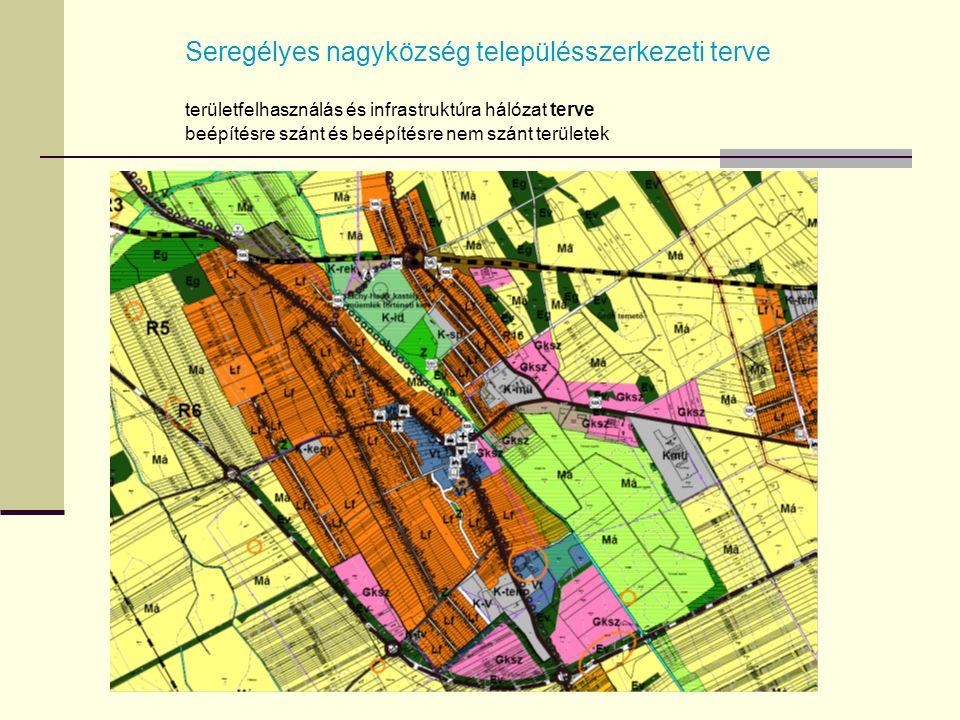 Seregélyes nagyközség településszerkezeti terve