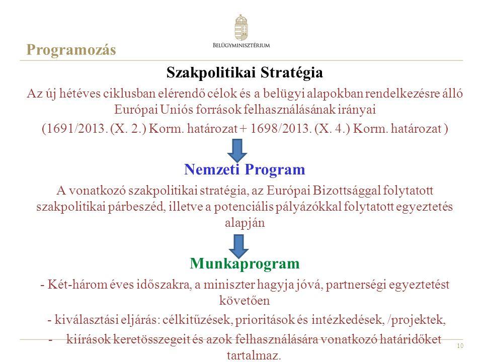 Szakpolitikai Stratégia