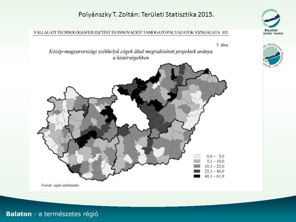 Polyánszky T. Zoltán: Területi Statisztika 2015.