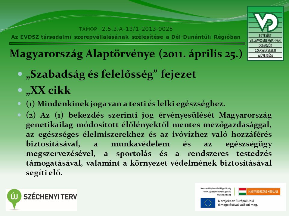 Magyarország Alaptörvénye (2011. április 25.)