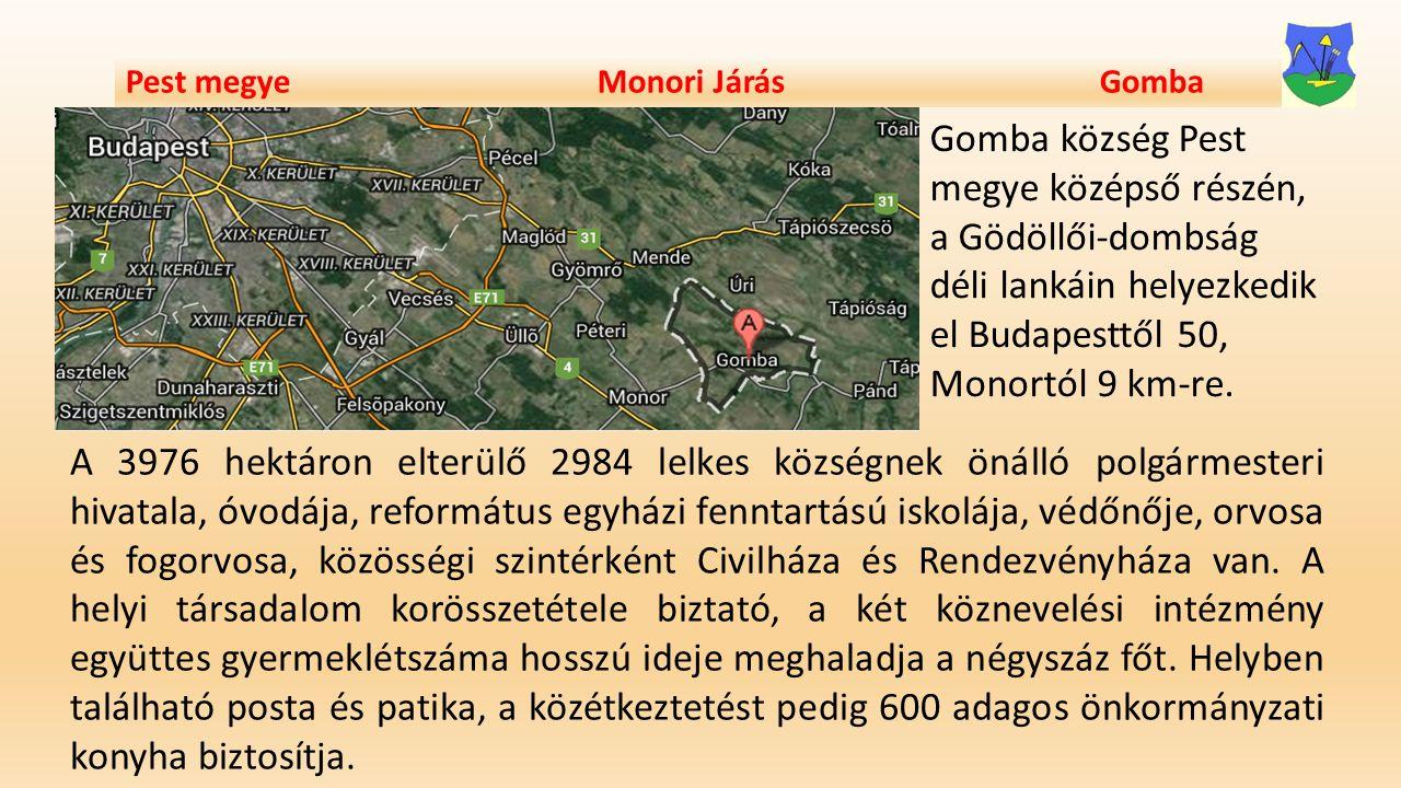 Pest megye Monori Járás Gomba