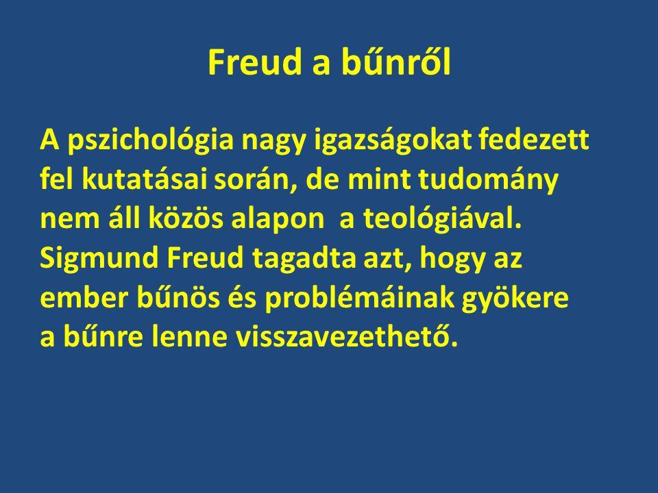 Freud a bűnről