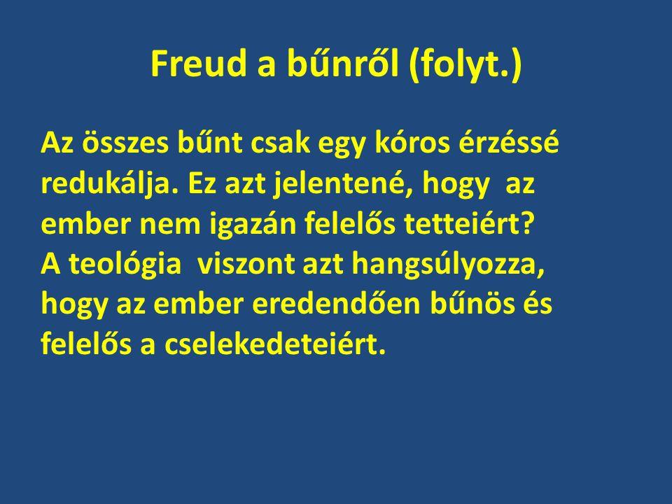 Freud a bűnről (folyt.)