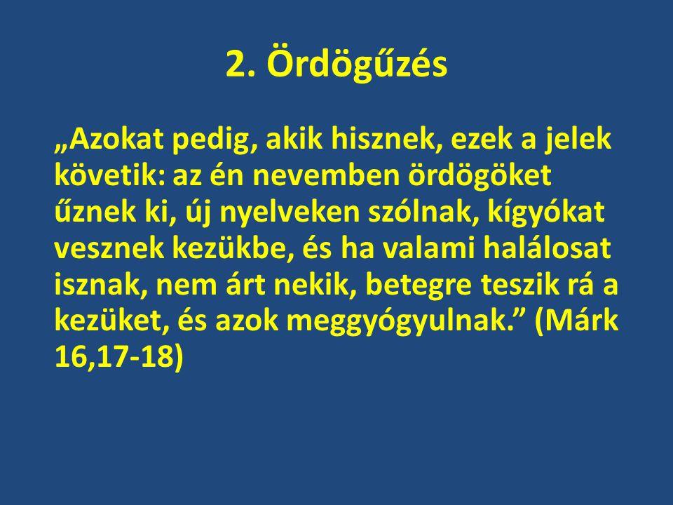 2. Ördögűzés