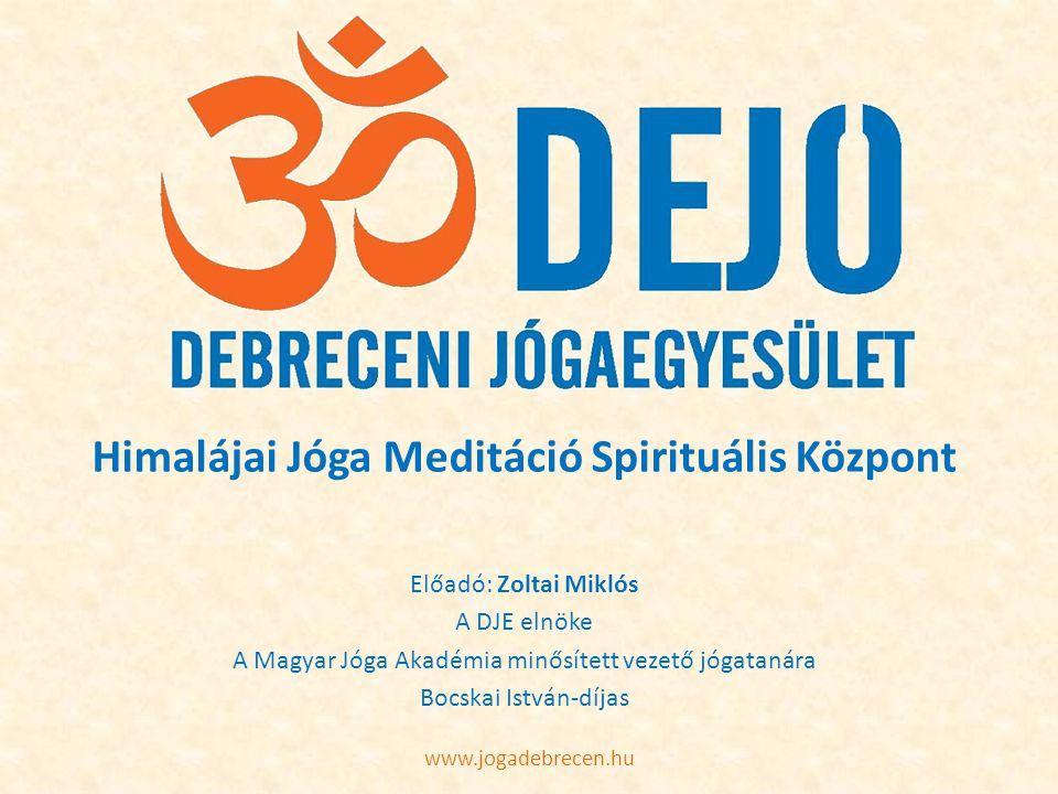 Himalájai Jóga Meditáció Spirituális Központ