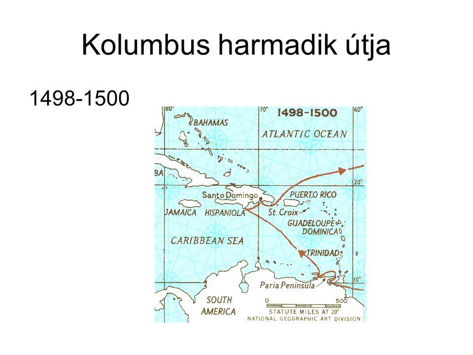 Kolumbus harmadik útja