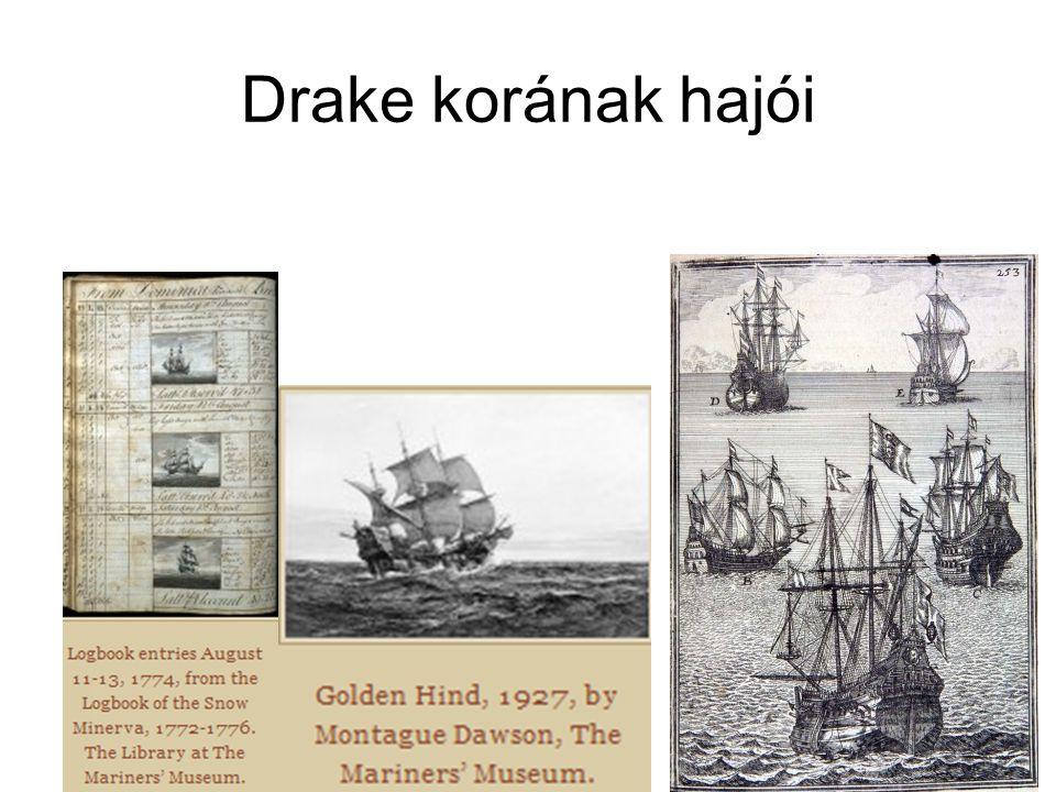 Drake korának hajói