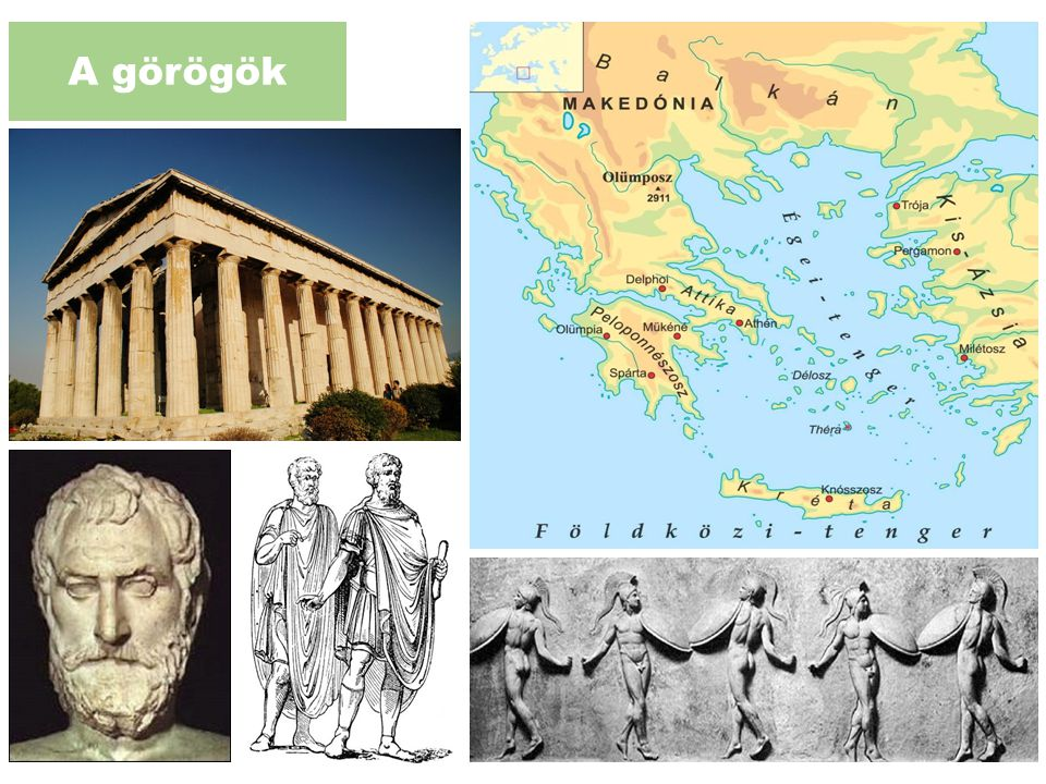 A görögök