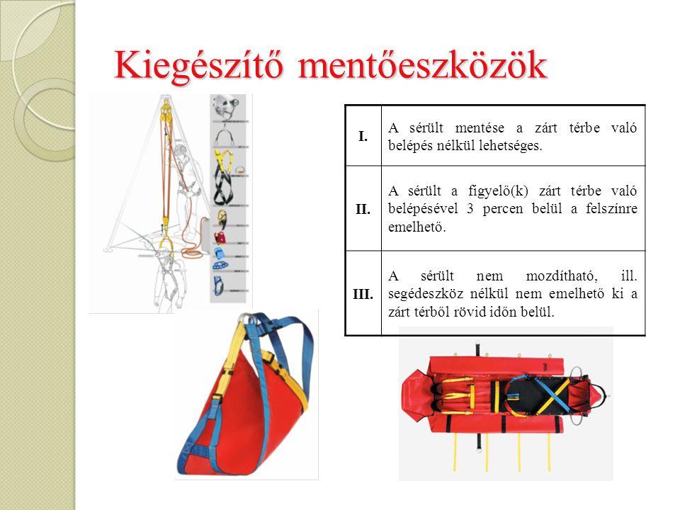 Kiegészítő mentőeszközök