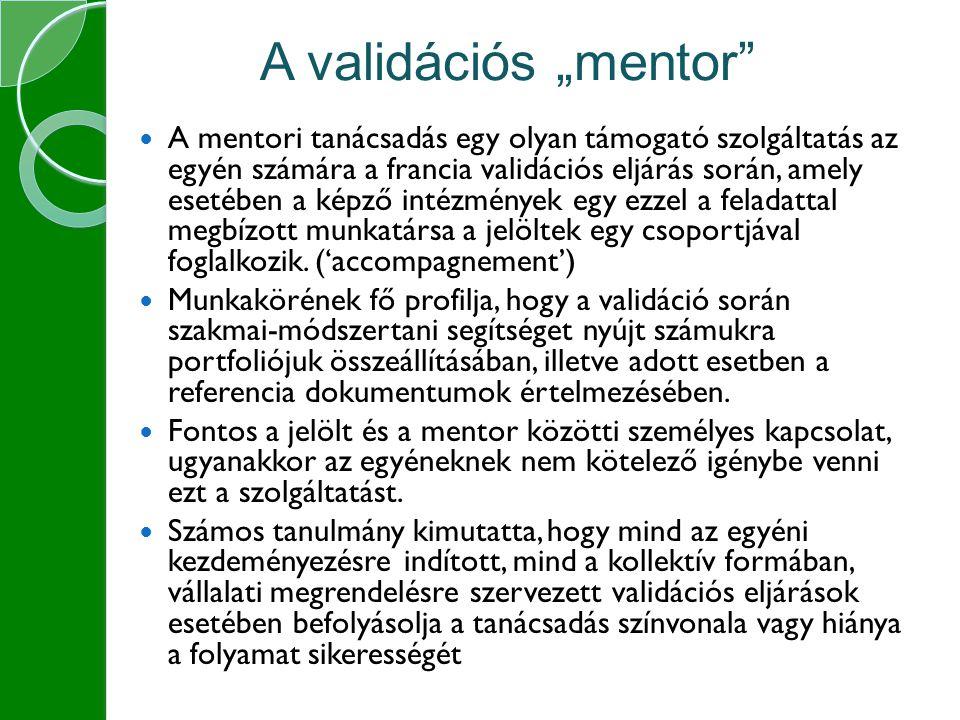 """A validációs """"mentor"""