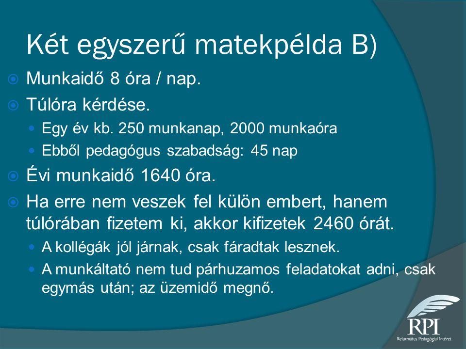 Két egyszerű matekpélda B)