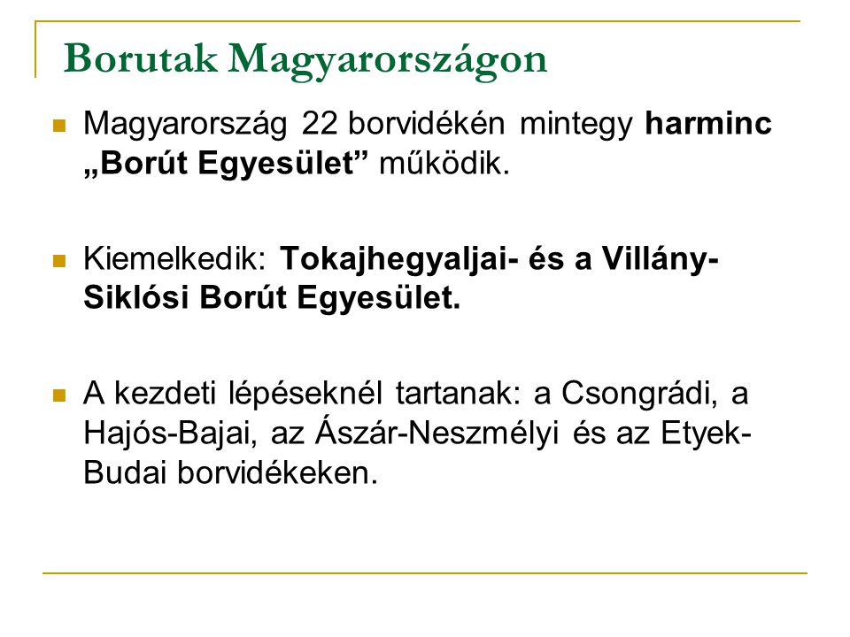 Borutak Magyarországon