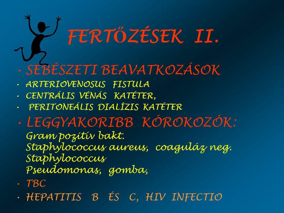 FERTŐZÉSEK II. SEBÉSZETI BEAVATKOZÁSOK