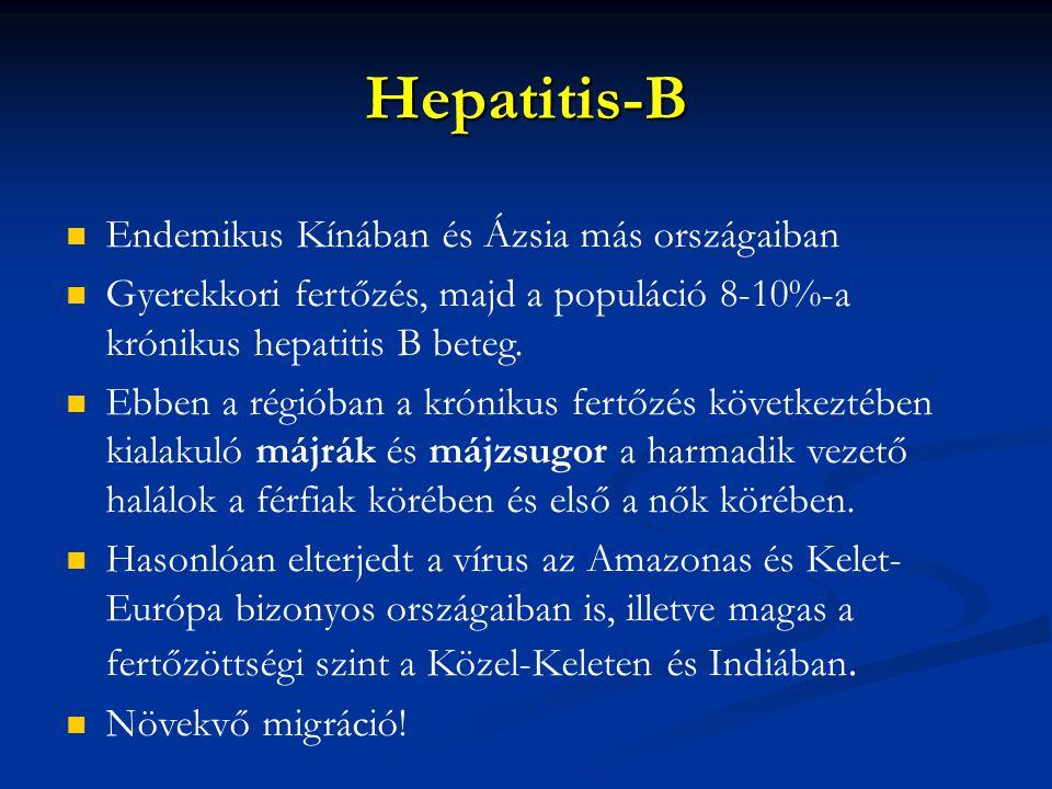 Hepatitis-B Endemikus Kínában és Ázsia más országaiban
