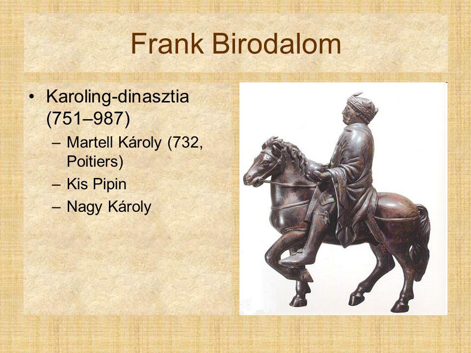 Frank Birodalom Karoling-dinasztia (751–987)