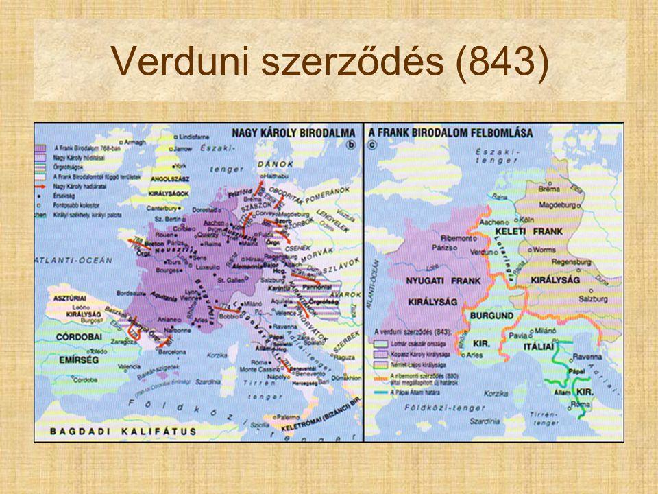Verduni szerződés (843) Nîmes Pont du Gard