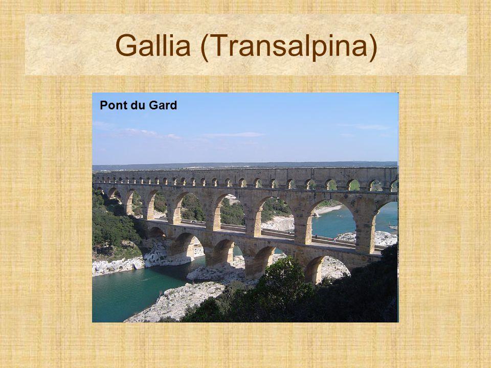Gallia (Transalpina) Pont du Gard Pont du Gard